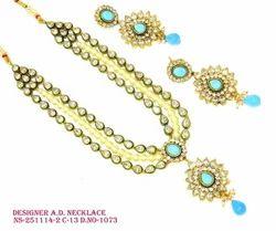 Designer AD Polki Necklace