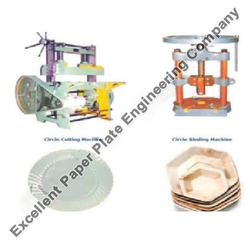 Industrial Paper Plate Manual Hand Press