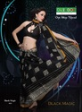 cotton saree black magic