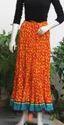 Sanganeri Print Cotton Long Skirt
