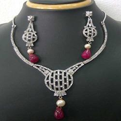 Zircon Fashion Jewellery Set