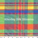 Designer Silk Checks Fabric