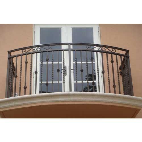 Ms balcony railings shivaranjani enterprises for Design of balcony railings in india