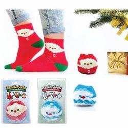 bauble socks santa snowman