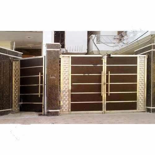Stainless Steel Main Gates   Designer Stainless Steel Gates Manufacturer  from Faridabad. Stainless Steel Main Gates   Designer Stainless Steel Gates