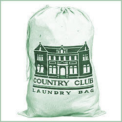 Picture Printed Laundry Bag