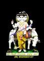 God Duttatrya Marble Statue