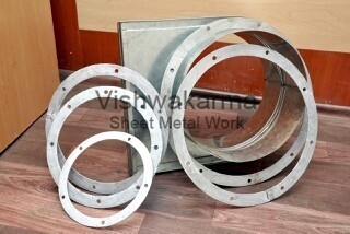 M.S Round Ducting Flanges