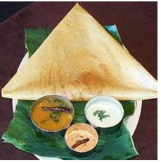 Plain Dosa (South Indian)