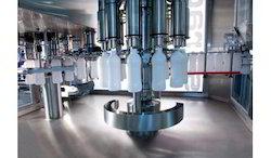HDPE Bottle Filling Machine