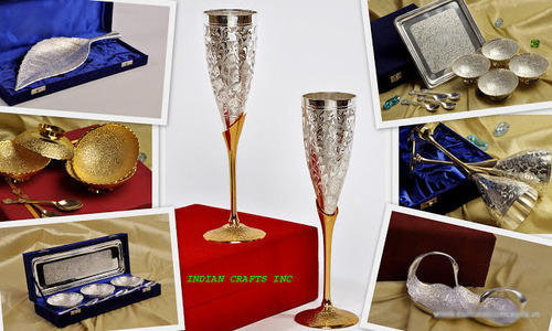 Silver Plated Gift Items Manufacturer from Moradabad