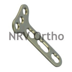 T Locking Plate 3.5mm Right Angled