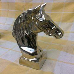 Aluminum Horse Head