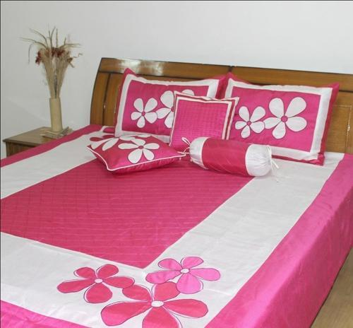 Designer Bedding   Cotton Bedding Spread Set With Embroidery Manufacturer  From New Delhi