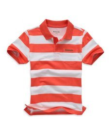 Kids Knitted Polo T Shirt