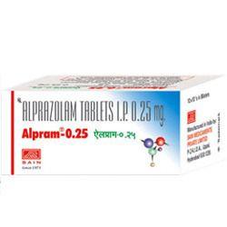 Alprazolam 0.25/0.5 Mg Tablets