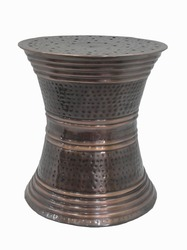 Metal Accent Stool