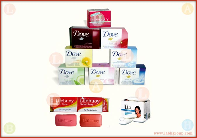 Printed Folding Carton Box for Soap
