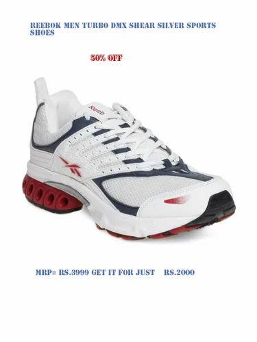 7b43de2d82d Sports Shoes - Reebok Men Turbo DMX Shear White Sports Shoes ...