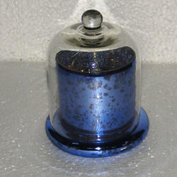 Blue Clotch Candle