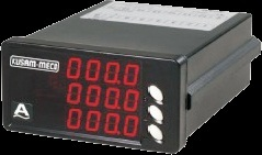 Digital 3 - Phase AC Current Meter with 3 Displays