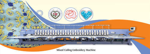 Mixed Coiling Embroidery Machine