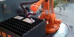 Robotic plasma cutting machine