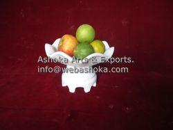 Marble Fruit Bowls, marble plates, marble decoration For Din