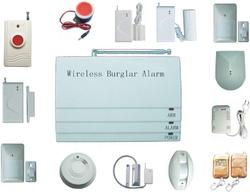 Wire Less Burglar Alarm
