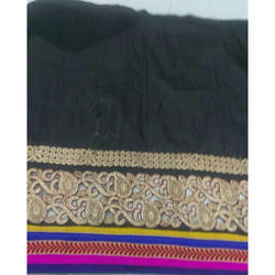 Chanderi Cut Work Fabric