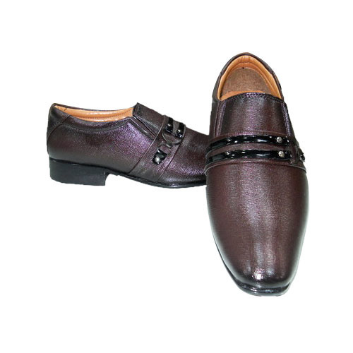 Party Wear Brown Shoes