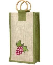 Fruit Printed Wine Bag