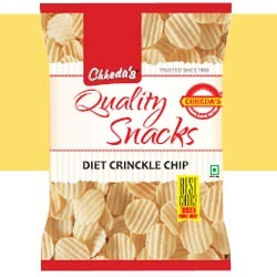 diet crinckle chips