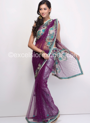 exclusive crafted saree
