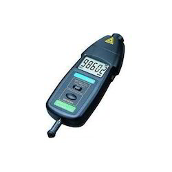 how to use contact tachometer