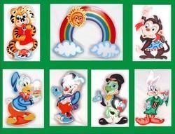 Wooden Cutout-Cartoon Characters