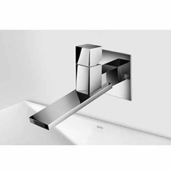 F Elegant Wall Mounted Single Lever Basin Mixer