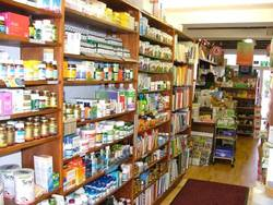 Medical Store Interior Design