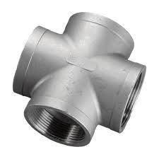 Stainless Steel Socket Weld Cross Fitting 304L