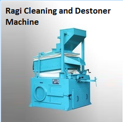 Ragi Cleaning & Destoner Machine