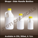 Side Handle Plastic Bottles