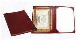 Certificate Folder