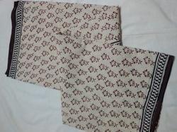 Block Printed Saree