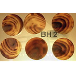 BH 2 Buffalo Horn Button Blanks