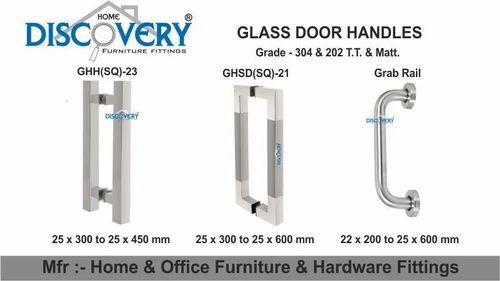 Glass Door Handles Manufacturer From Rajkot