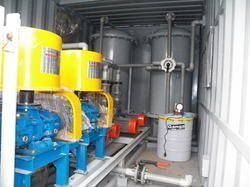 akar containerized sewage treatment plant