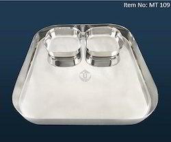 Gourmet Plate Stainless Steel