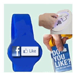 RFID Plus Facebook Like Station