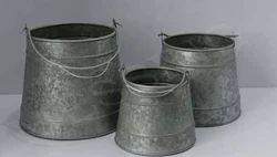 Flower Pots Set of 3