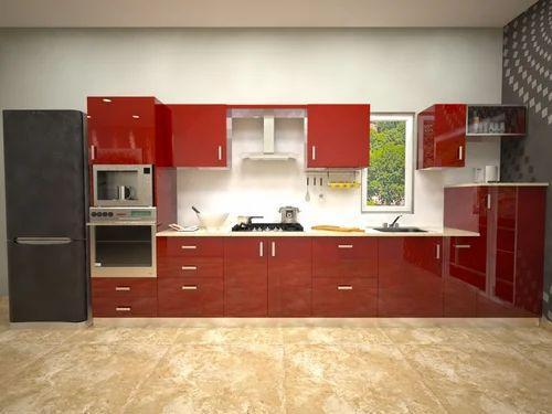 Modular Kitchens Straight Kitchen Manufacturer From Mumbai